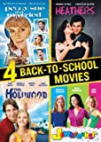 4 Back to School Movies Collection (Jawbreaker / Hollywood Knights / Peggy Sue Got Married / Heathers)