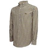 NCAA men's campus Specialties long sleeve button down multicolor plaid woven shirt