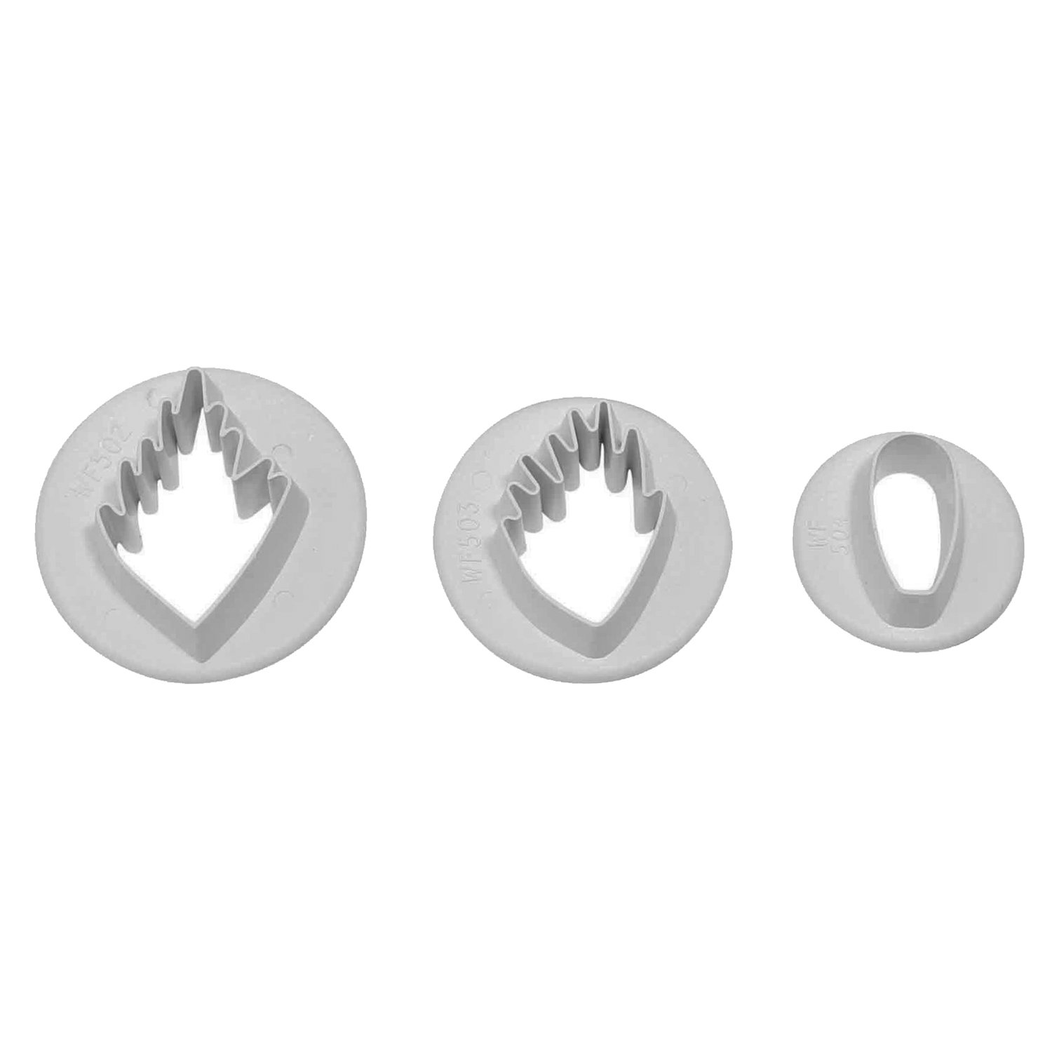 PME Wood Anemone Set of 3 cutters by PME SUGARCRAFT (Image #1)