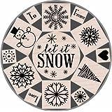 Hero Arts Let it Snow Tin Woodblock Stamp Set