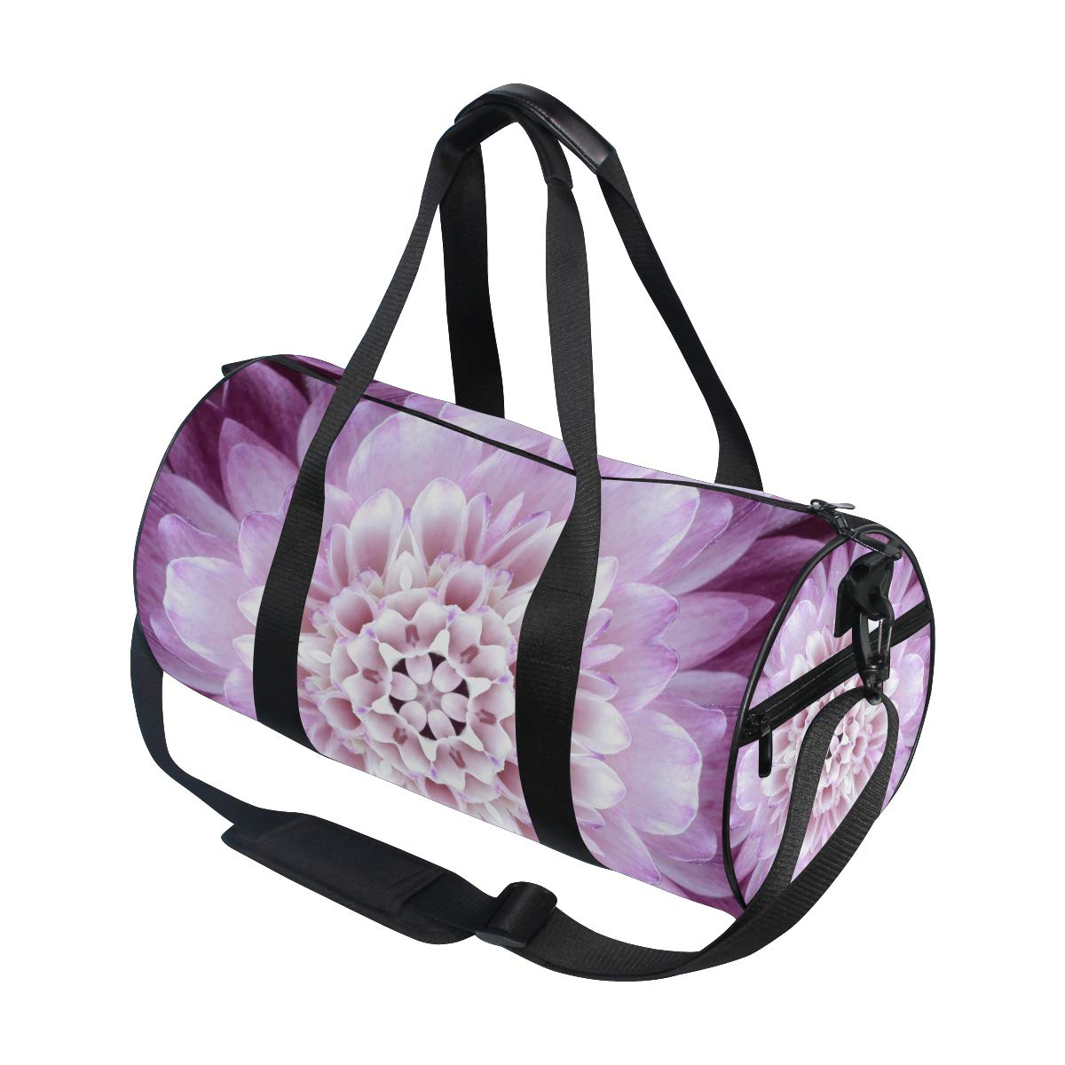 Mandala Bohemian Yoga Sports Gym Duffle Bags Tote Sling Travel Bag Patterned Canvas with Pocket and Zipper For Men Women Bag by EVERUI (Image #3)