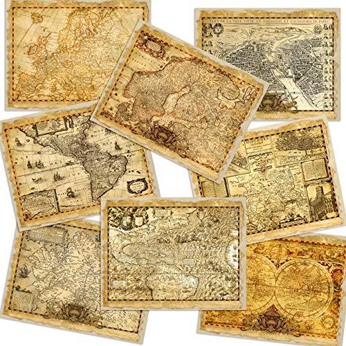 Antique Maps Journal Paper Pack - EZ Journal 7027