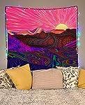 Lucid Eye Studios Trippy Trek Tapestry Wall Hanging