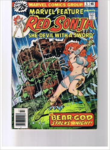 Marvel Feature Presents Red Sonja She Devil With A Sword #5 ...