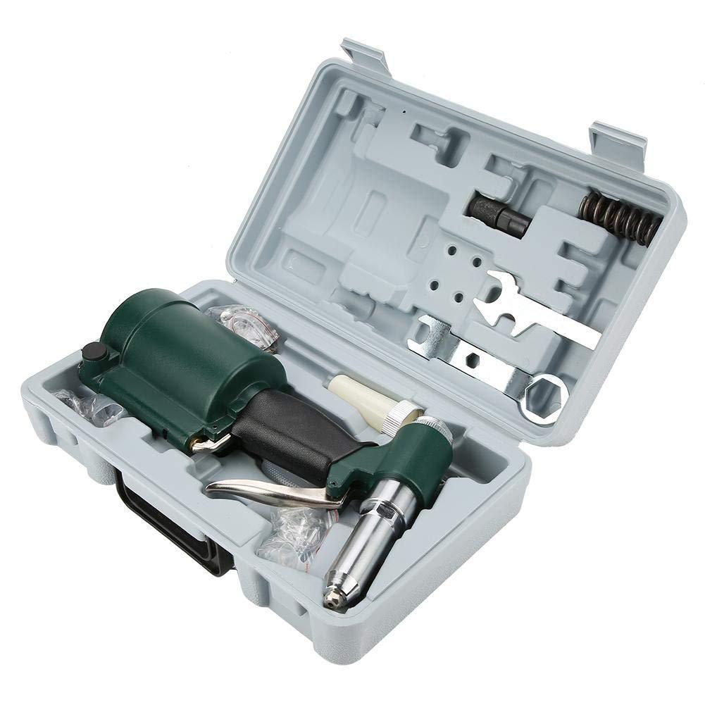 Nietpistole H/äfen und Br/ückenbau 2.4-4.8mm Luftnietpistole Blindniet-Pistole Nietzange Kit f/ür Schwere Maschinenproduktion petrochemische Industrie