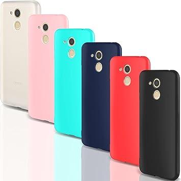 Leathlux 6X Funda Huawei Honor 6C Pro, Carcasas 6 Juntas Ultra ...