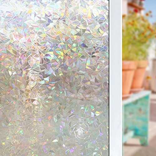 Decorative Transparent Reflective Protection 17 7x78 7