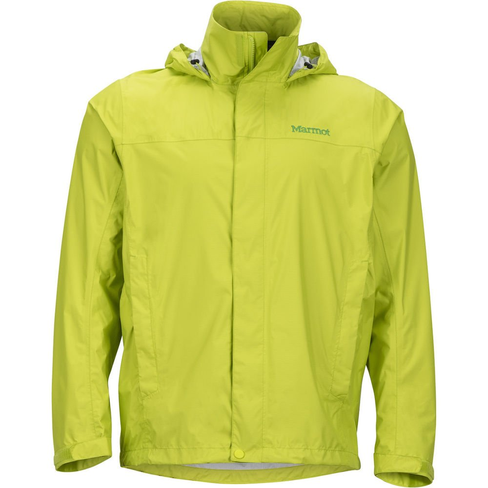 Marmot Men's PreCip Rain Jacket - Bright Lime, Small by Marmot