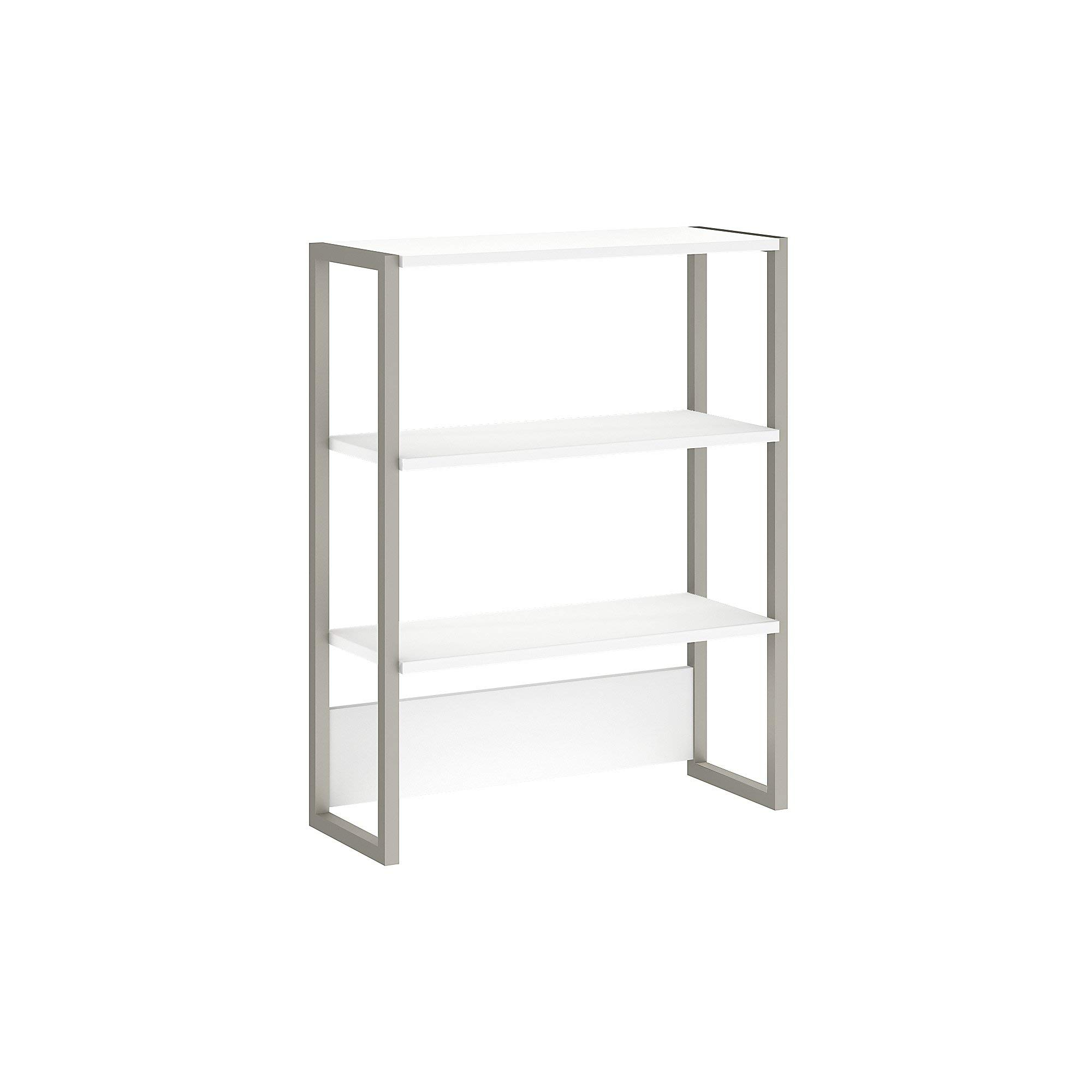 Office by kathy ireland Method Bookcase Hutch in White by Kathy Ireland Office