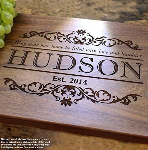 Engraved Wedding Gift Ideas: Amazon.com: Housewarming Personalized Engraved Cutting