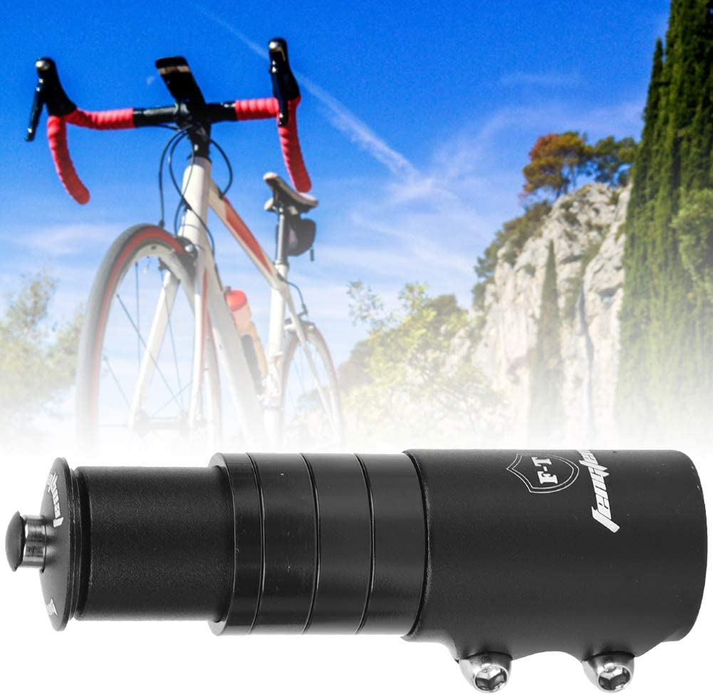 Jadeshay Bike Mountain Bike Stem Extender Bicycle Handlebar Heightening Cycling Accessoy