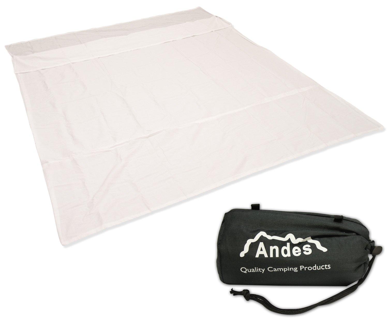 Andes - Doublure pour sac de couchage deux personnes - pour camping - polycoton
