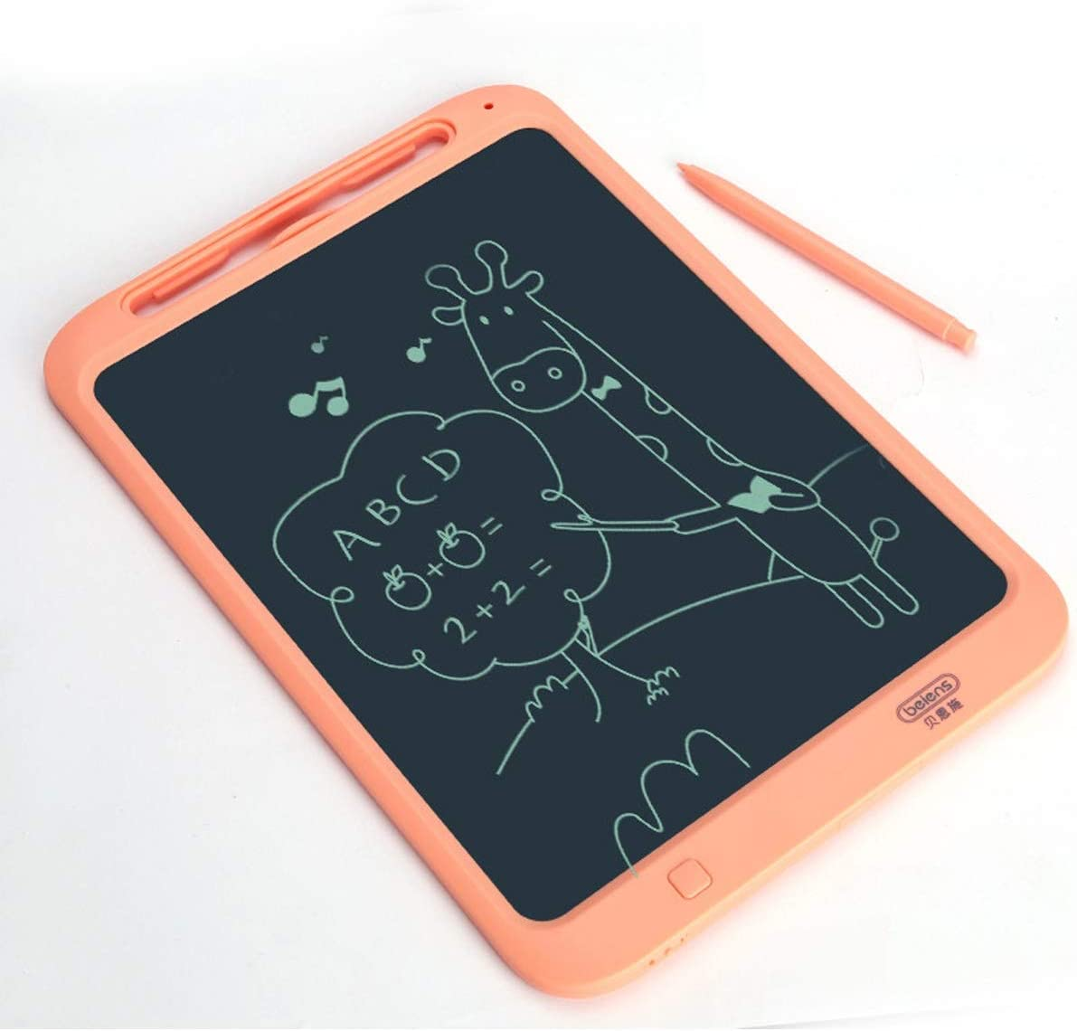 8haowenju Sketchpad LCD Tablet Red Sketchpad Color : Blue Graffiti Board Blue Non-Magnetic Writing Board Light Blackboard