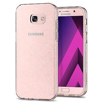 spigen Funda Samsung Galaxy A5 2017 [Liquid Crystal Glitter] TPU Silicona/Antichoque/Adherencia exacta/Brillante - Carcasa Fundas de Silicona para ...