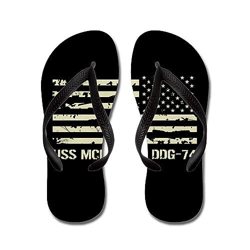 USS McFaul - Flip Flops Funny Thong Sandals Beach Sandals
