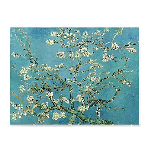 EzPosterPrints - Vincent Van Gogh Art Reproduction Posters - Poster Printing - Wall Art Print for Home Office Decor - Almond Blossom - 24X18 inches