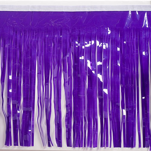Shindigz Purple Vinyl Fringe Parade Material ()