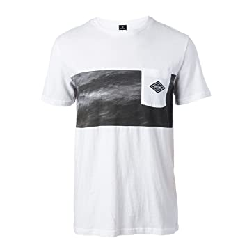 Rip Curl 2017 Combine Tee OPTICAL WHITE CTEUU4 Sizes- - Large