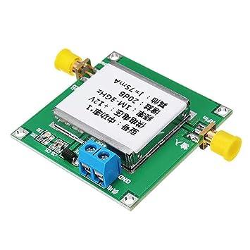 1-3000MHz 2.4GHz 20dB LNA RF Broadband Low Noise Amplifier Module UHF HF VHF