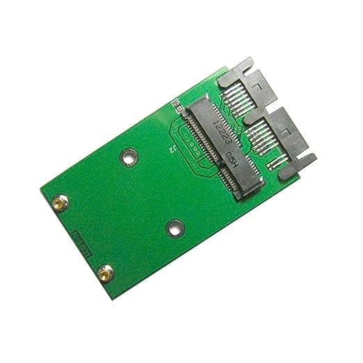 Mini PCI-E pci Express pcie mSATA SSD a 1.8 Micro SATA 7 + 9 16 ...