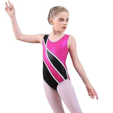 e43721b15 Amazon.com  INDerua Ballerina Toddler Girl Ballet Leotards ...
