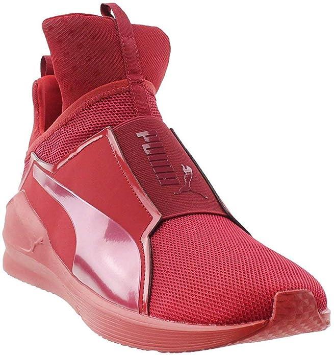 PUMA Mens Fierce Core Mono Casual Sneakers