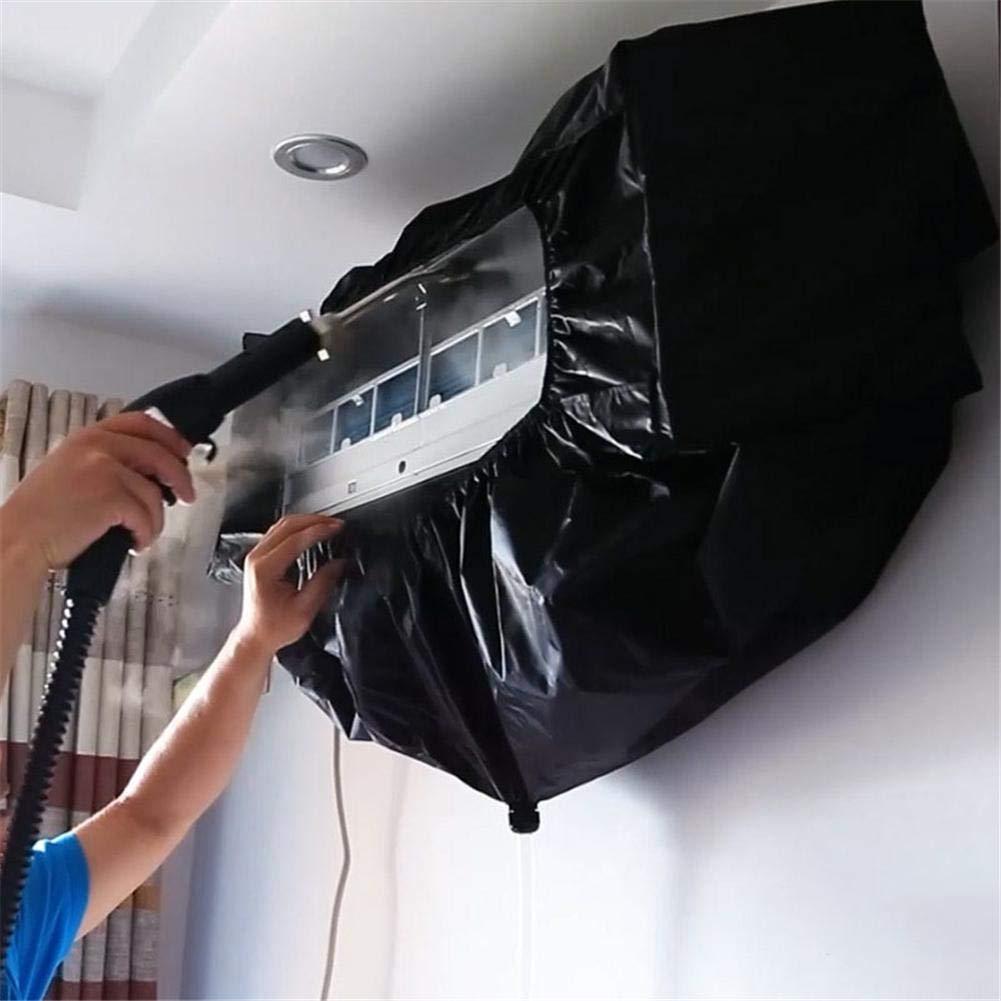 Cubierta de Aire Acondicionado , Cubierta Protectora Impermeable del acondicionador de Aire M/áquina Colgante Limpieza del hogar Cubierta de Polvo con Tubo de Agua para Oficina 3P o Pared de la ca