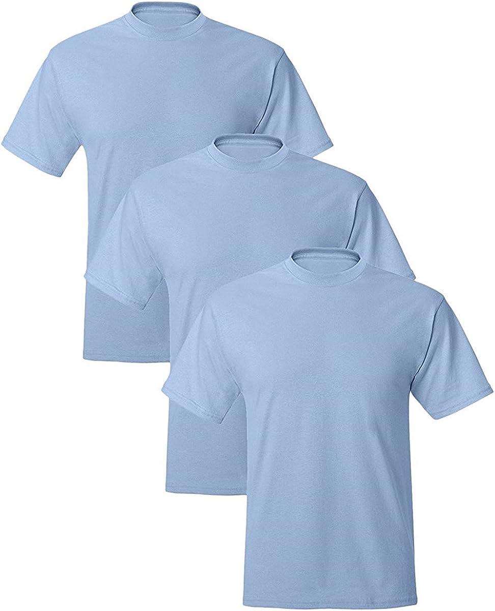 Hanes Mens Comfort Blend Cotton Poly T-Shirt
