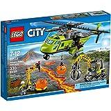 LEGO City Volcano Supply Helicopter Set #60123