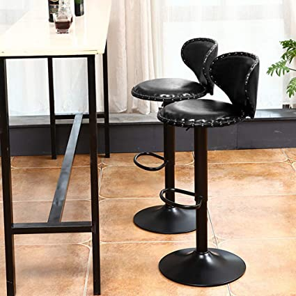 Sensational Amazon Com Figed Bar Stools Counter Height Adjustable Bar Onthecornerstone Fun Painted Chair Ideas Images Onthecornerstoneorg