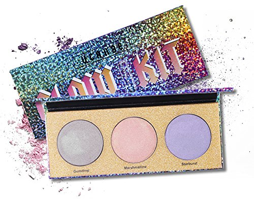 UCANBE Aurora Highlighter Palette - Create an Extreme Iridescent Highlight for you - Shimmer Makeup Powder Glow Kit (Shimmer Kit)
