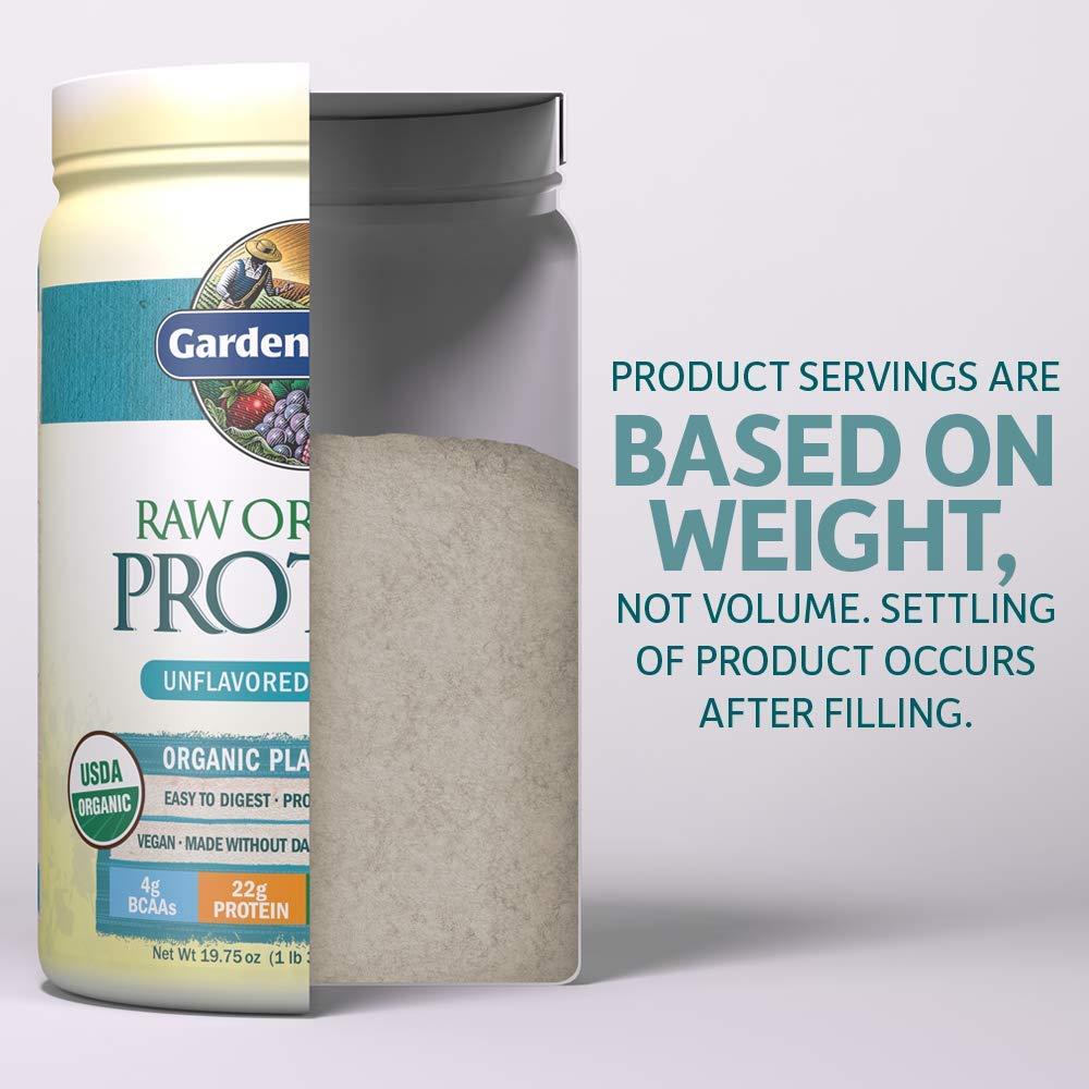 10 sobres Garden of Life de proteína vegana orgánica en polvo, con vitaminas y probióticos, para batidos de proteína, sin azúcar, de chocolate: Amazon.es: ...