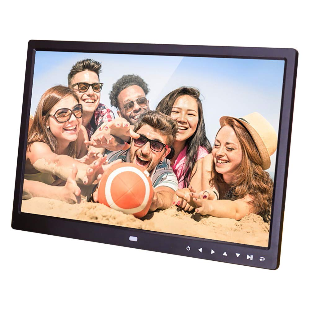 Digital Photo Frames, Inkach 15-Inch High-Definition Widescreen Electronic Digital Picture Frames with Motion Sensor Touch Button (Black) by Inkach - Digital Picture Frame