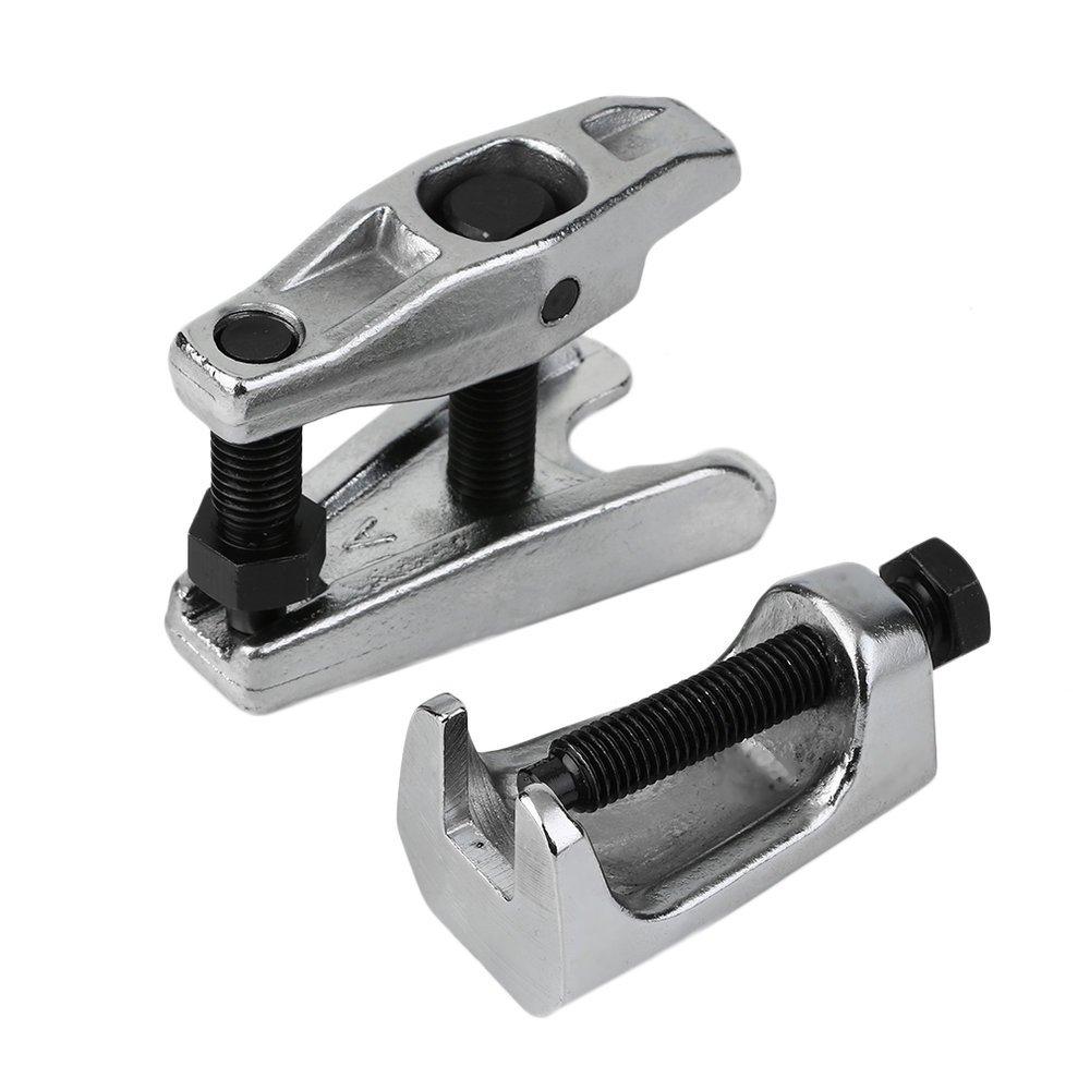 Poncherish Set di 2 pezzi del tirante Estrattore di giunti sferici portatile Set attrezzi estrattore per testa del tirante