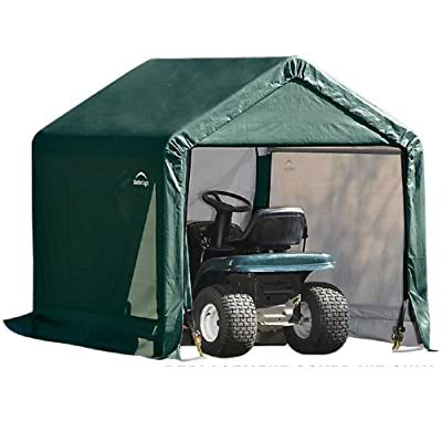 ShelterLogic Replacement Cover Kit 6x6x6.5 Peak 805242 (14.5oz PVC Green): Garden & Outdoor