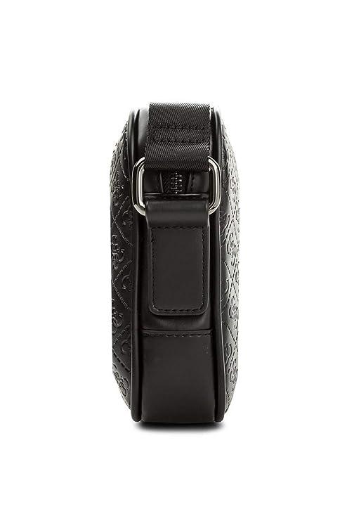 Guess Sacoche Homme Miami 4g - Noir - Taille unique  Amazon.fr  Chaussures  et Sacs df18ad18a6a
