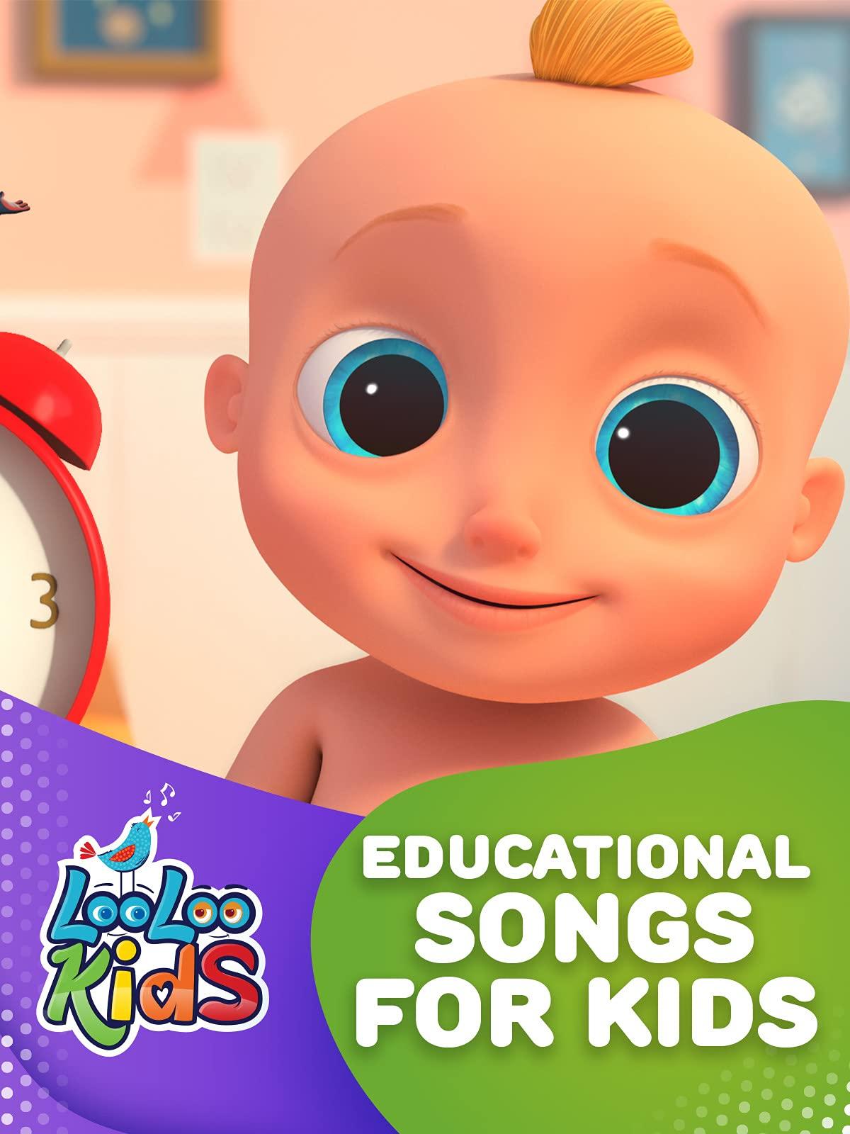 Educational Songs for Kids - LooLoo Kids on Amazon Prime Video UK