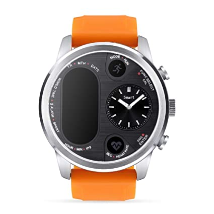 Amazon.com: Lamptti T3 Smart Watch with Bluetooth 4.0 ...
