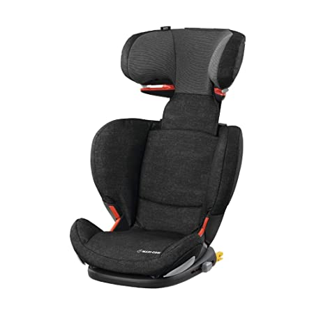 Maxi-Cosi RodiFix AirProtect Child Car Seat, ISOFIX Booster Seat, 15-36 kg, Nomad Black-Best-Popular-Product