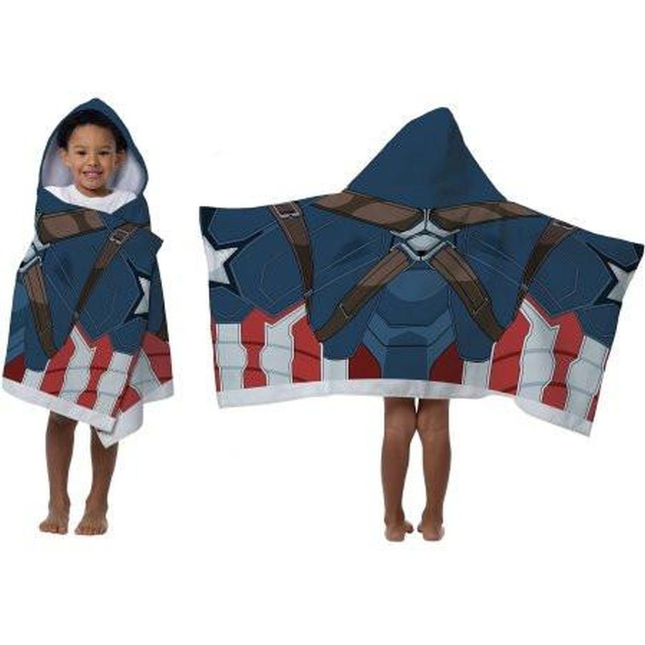Marvel Captain America Civil War Hooded Towel For Bath, Pool, or Beach