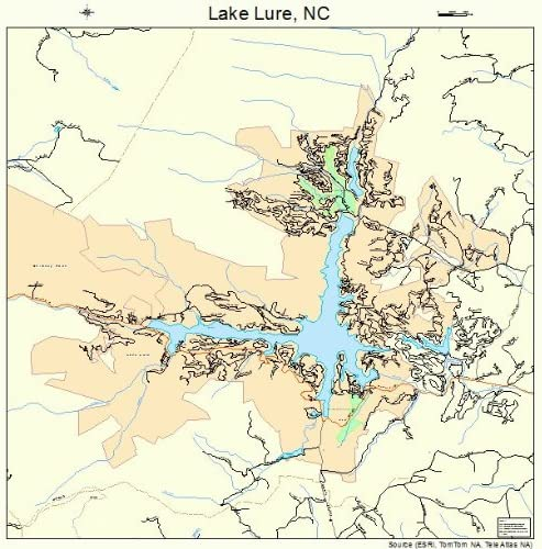 lake lure north carolina map Amazon Com Large Street Road Map Of Lake Lure North Carolina lake lure north carolina map