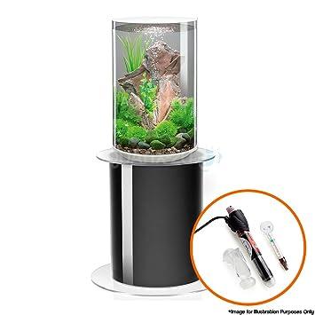 BiOrb TUBE 30L en color blanco con iluminación LED, soporte para acuario 105 y calefactor Pack: Amazon.es: Productos para mascotas