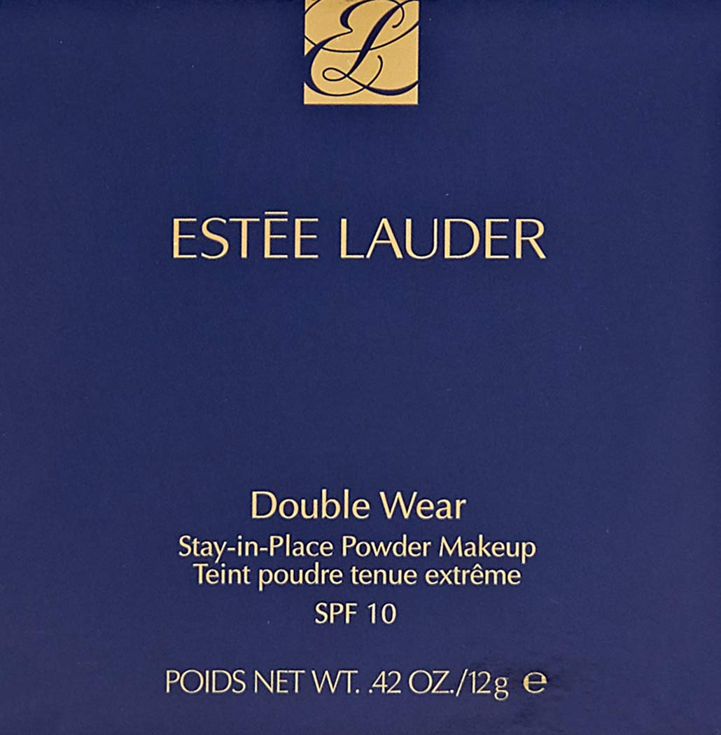 Estee Lauder Double Wear Stay-in-Place Powder Makeup, Shell Beige, 0.42 Ounce