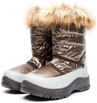 DRKA Women's Snow Boots with Fur Lined