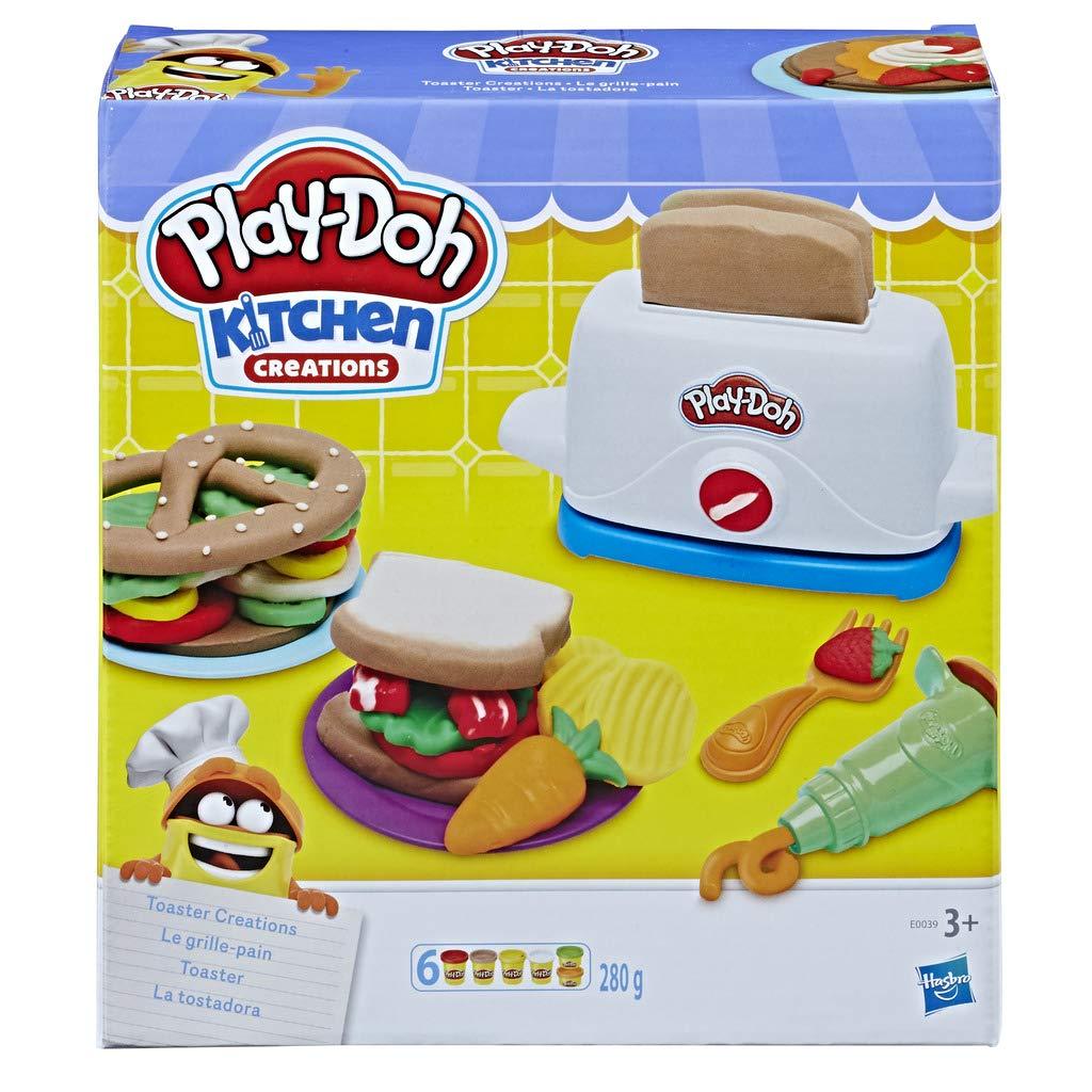 Play-Doh- La Tostadora (Hasbro E0039EU4): Amazon.es: Juguetes y juegos