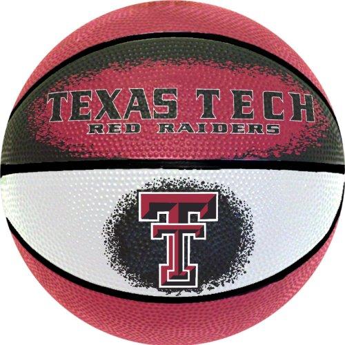 NCAA Texas Tech Red Raiders Mini Basketball, (Raiders Ncaa Basketball)