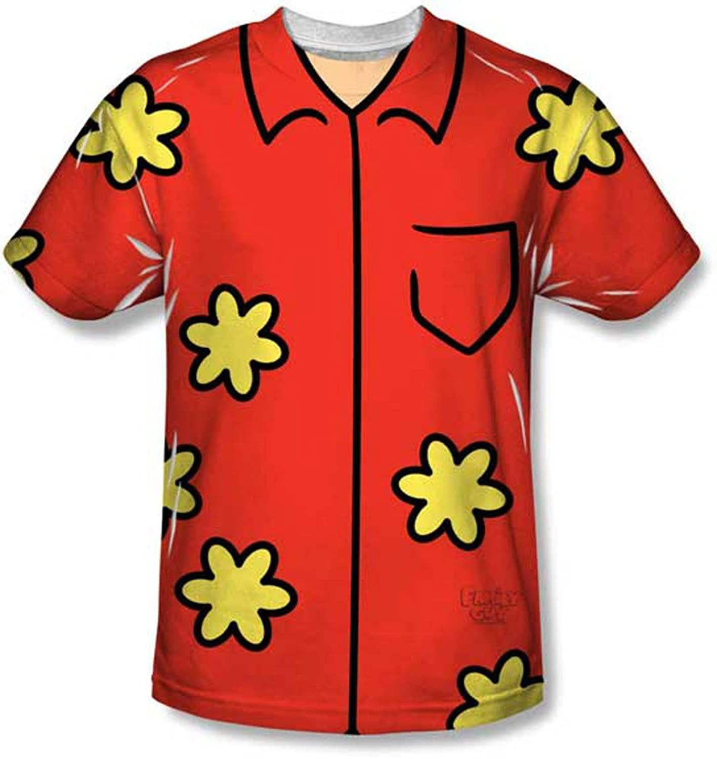 Glenn Quagmire Family Guy T-Shirt Costume-Mens Medium: Amazon.co ...