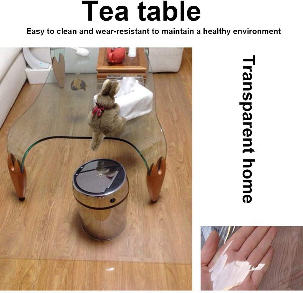 PVC, antideslizante, antideslizante, antideslizante, para suelos duros y alfombras, debajo de mesas, muebles, No nulo, 40 x 60 cm., 40x60cm Alfombrilla para silla de oficina LYXMY