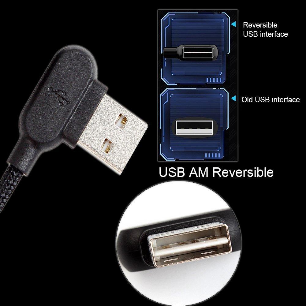 Olaf Micro Usb Kabel 1 M 2 M Schnelle Lade Usb Kabel 2a 90 Grad Usb Ladegerät Kabel Für Xiaomi Samsung Huawei Mobilie Telefon Kabel Seien Sie Im Design Neu Handy Kabel