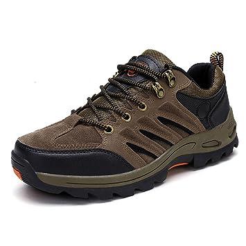 Beauqueen 2017 Herbst Winter Herren Wanderschuhe Casual Sportschuhe Rutschfeste Trekking Schuhe 39-44 (Color : Gray, Größe : 43)